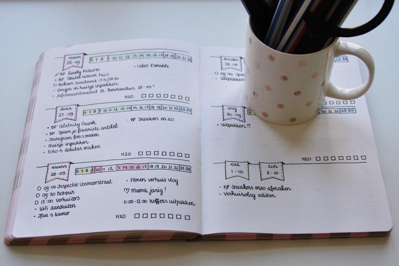 Bullet Journal – Hoe u begint met schrijven in uw Bullet Journal